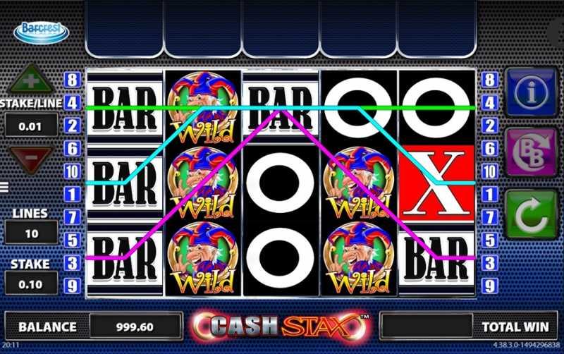 Cash Stax Slot