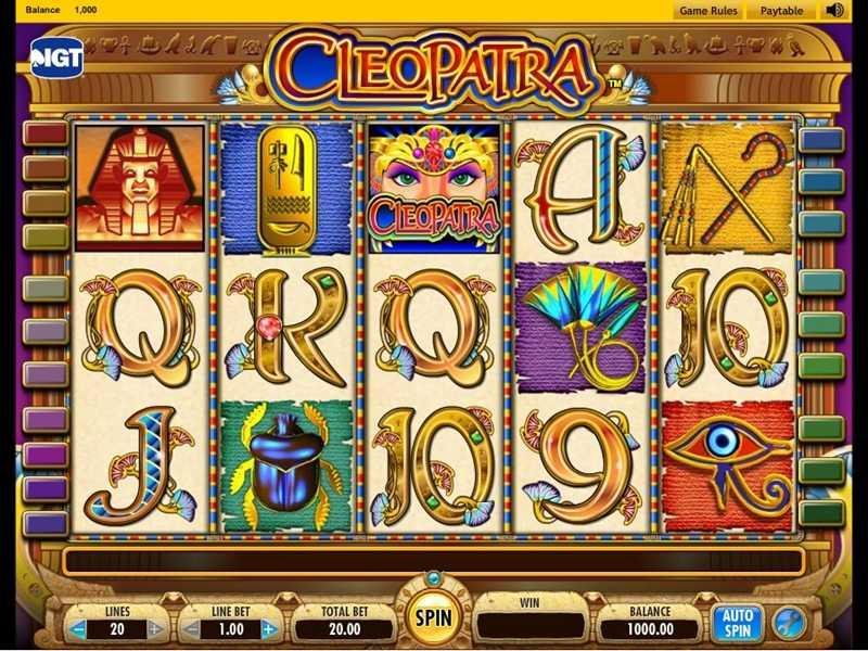 Slots Casino Free Cleopatra