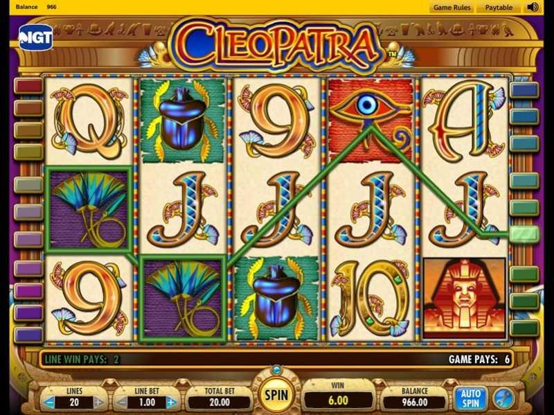 Casino Free Games Cleopatra