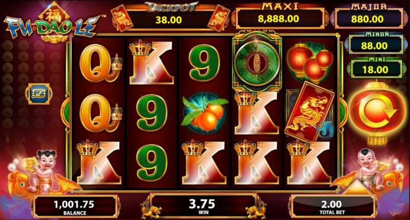 Fu Dao Le Slot Game Review Uk Casino Sites Bonuses