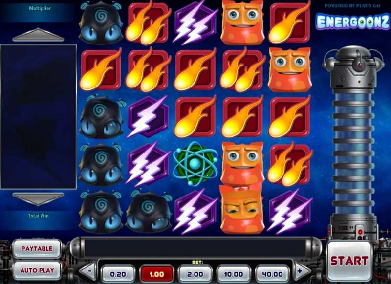 Energoonz Mobile Slot