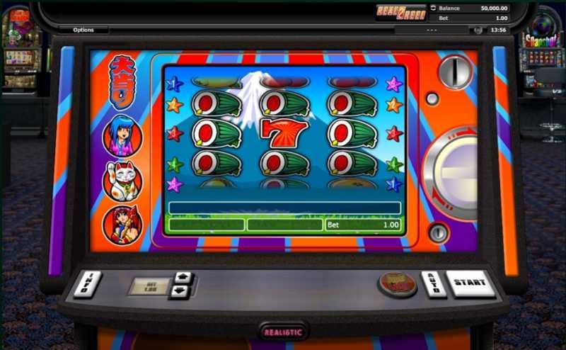 Super Graphics Super Lucky Slot Machine