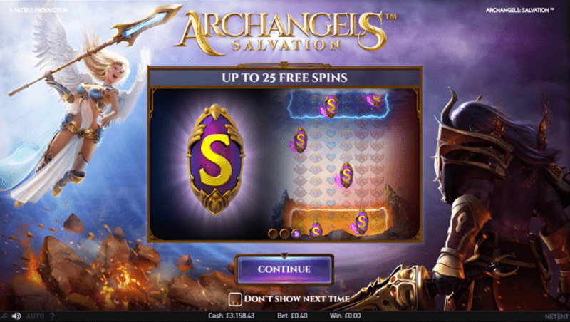 Spiele Archangels: Salvation - Video Slots Online