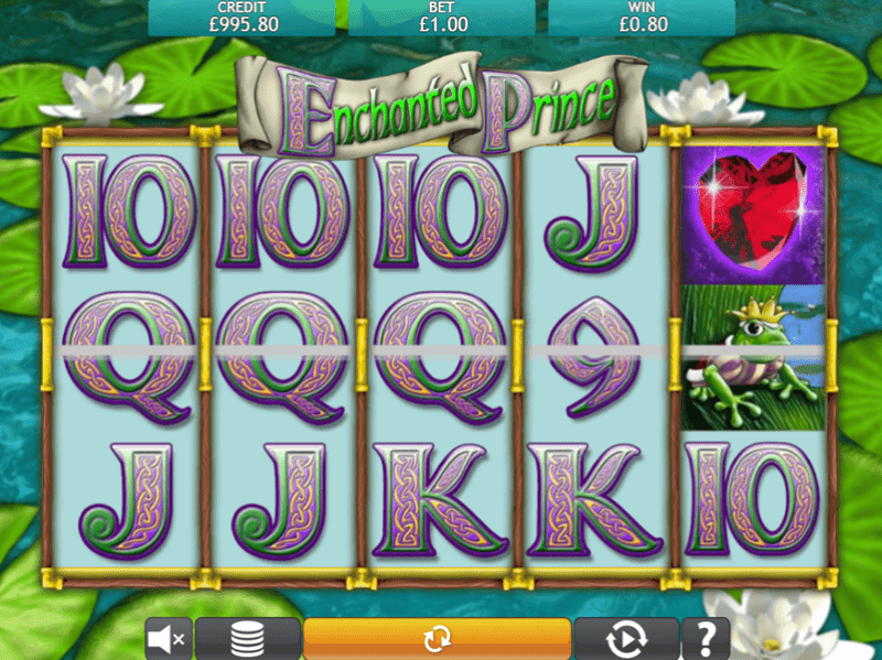 Club enchanted prince slot rewards love with winnings double