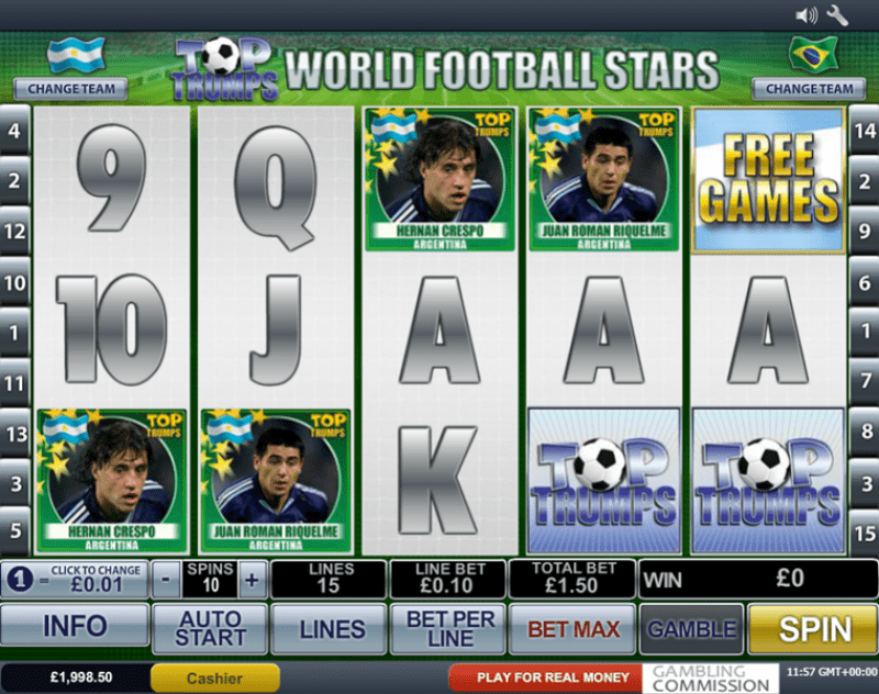 Spiele Top Trumps World Football Stars - Video Slots Online