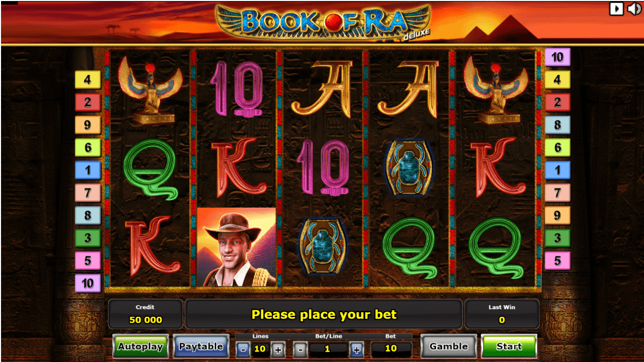Book Of Ra Casino Games