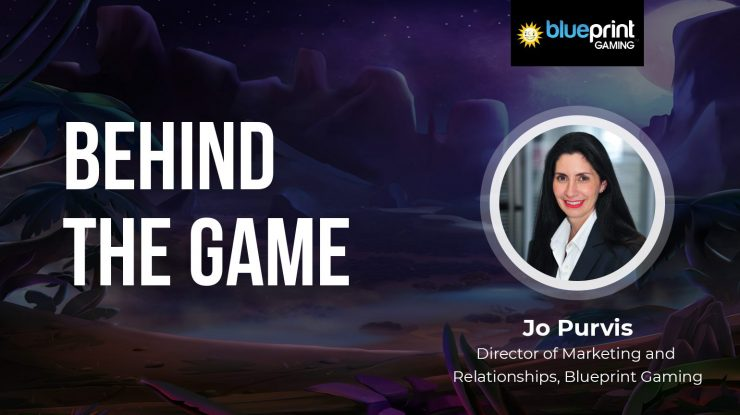 Behind The Game: Jo Purvis from Blueprint Gaming