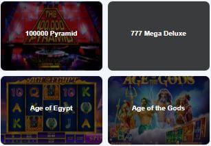 Check List of Slot Games