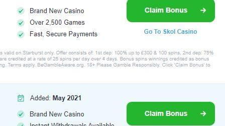 New Casino Launch Date